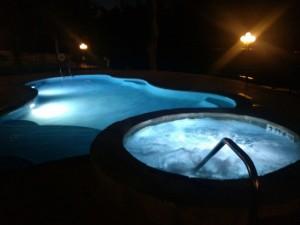 Pool at night 640